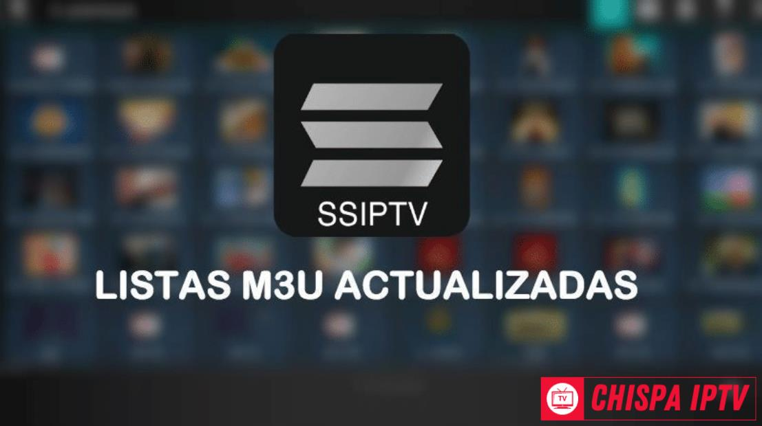 SS IPTV Listas Gratis Actualizadas