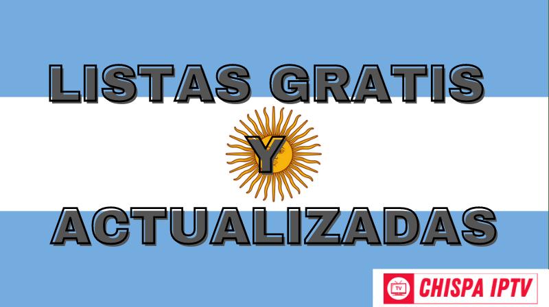 chispa iptv mejores listas argentina gratis actualizadas