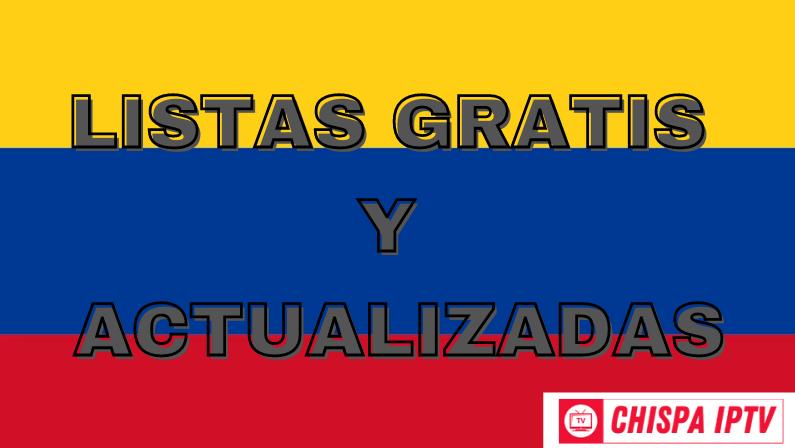 chispa iptv mejores listas colombia gratis actualizadas