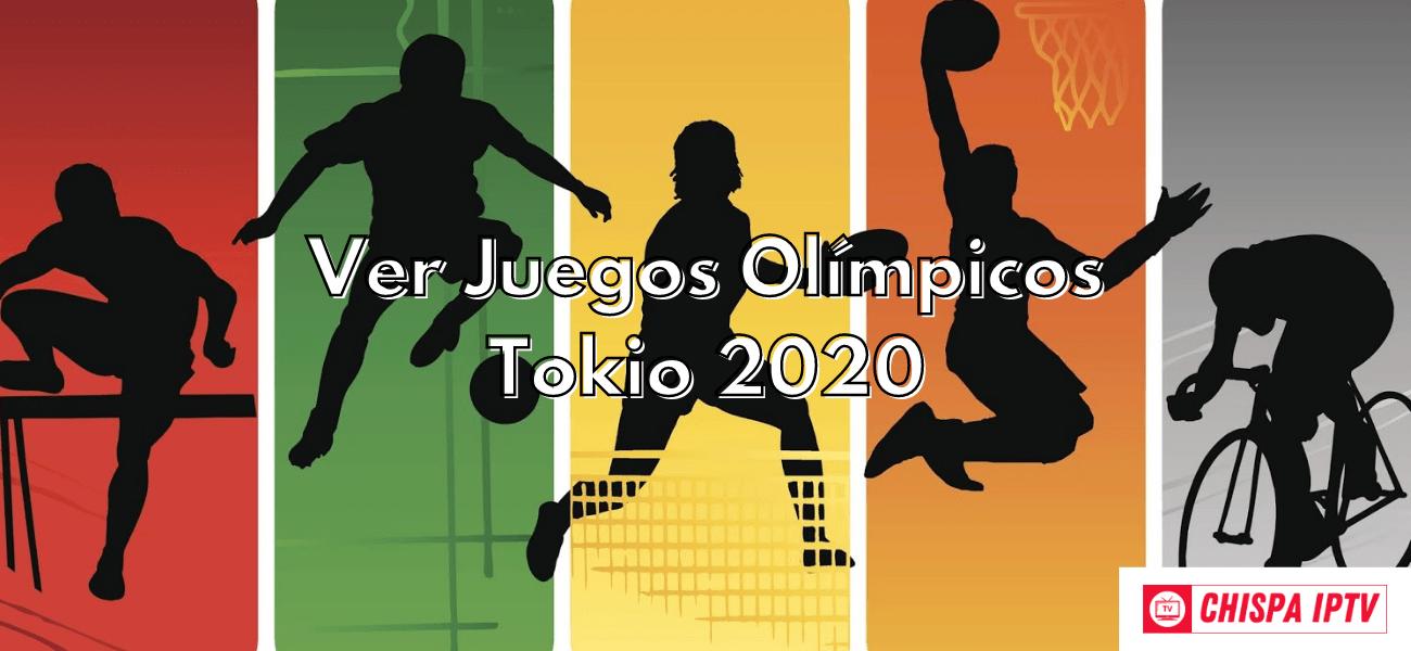 ver juegos olimpicos tokio 2020 gratis online iptv cccam chispaiptv
